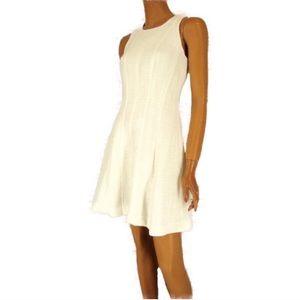 Cream Banana Republic Dress! Worn Once!